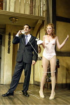 'NOISES OFF' (Frayn)   (director: Jeremy Sams)~James Albrecht (Garry Lejeune), Tilly Gaunt (Brooke Ashton)~Piccadilly Theatre, London W1                13/08/2003                        (original prod...