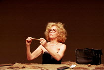 'OH LES BEAUX JOURS' ('HAPPY DAYS') (Samuel Beckett - director: Peter Brook)~Natasha Parry (Winnie)~Riverside Studios, London W6                28/11/1997