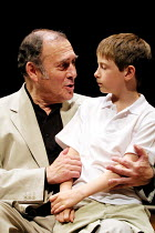 'ONE FOR THE ROAD' (Pinter),Harold Pinter (Nicolas), Rory Copus (Nicky),Gate Theatre Dublin production/New Ambassador's Theatre, London WC2   04/07/2001,