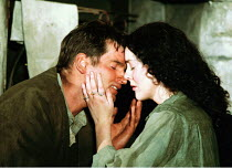 'THE PLAYBOY OF THE WESTERN WORLD' (Synge),Patrick O'Kane (Christopher 'Christy' Mahon), Derbhle Crotty (Margaret Flaherty/'Pegeen Mike'),RNT/Cottesloe Theatre, London SE1  20/02/2001,