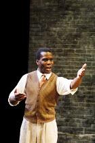 'A RAISIN IN THE SUN' (Hansberry) Ofo Uhiara (Joseph Asagai) Young Vic Theatre, London SE1   04/06/2001