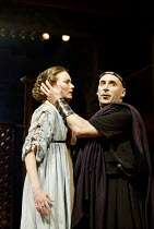 'THE ROMAN ACTOR' (Massinger)~Anna Madeley (Domitia), Antony Sher (Domitian Caesar)~RSC/Swan Theatre, Stratford-upon-Avon                30/05/2002