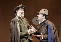 'ROSENCRANTZ AND GUILDENSTERN ARE DEAD' (Stoppard - director: Stephen Unwin),l-r: Nicholas Rowe (Rosencrantz), James Wallace (Guildenstern),English Touring Theatre / Oxford Playhouse                 2...