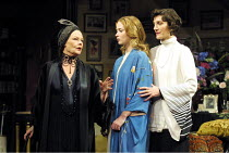 THE ROYAL FAMILY  by George S. Kaufman & Edna Ferber  design: Anthony Ward  lighting: Jon Buswell  director: Peter Hall  l-r: Judi Dench (Fanny Cavendish), Emily Blunt (Gwen Cavendish), Harriet Walte...