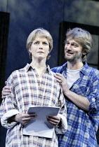 'THE SECRET RAPTURE' (David Hare - director: Guy Retallack)~Jenny Seagrove (Isobel Glass), Simon Shepherd (Irwin Posner)~Lyric Theatre, London W1                       26/11/2003