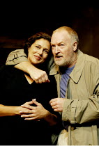 'SORROWS & REJOICINGS' (Fugard)~Denise Newman (Marta Barends), Marius Weyers (Dawid Olivier)~Tricycle Theatre, London NW6                25/03/2002