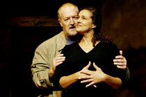'SORROWS & REJOICINGS' (Fugard)~Marius Weyers (Dawid Olivier), Denise Newman (Marta Barends)~Tricycle Theatre, London NW6                25/03/2002