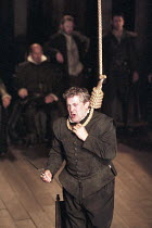 'THE SPANISH TRAGEDY' (Kyd - director: Michael Boyd),Peter Wight (Hieronimo),Royal Shakespeare Company / Swan Theatre     Stratford-upon-Avon     07/05/1997                   ,