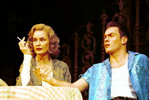 'A STREETCAR NAMED DESIRE' (Williams)~Jessica Lange (Blanche DuBois), Toby Stephens (Stanley Kowalski)~Theatre Royal, Haymarket/ London SW1  30/12/1996