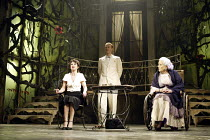 'SUDDENLY LAST SUMMER' (Tennessee Williams - director: Michael Grandage)~l-r: Victoria Hamilton (Catharine Holly), Mark Bazeley (Dr Cukrowicz), Diana Rigg (Mrs Venable)~Sheffield Lyceum / England...
