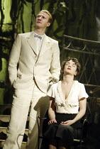 'SUDDENLY LAST SUMMER' (Tennessee Williams - director: Michael Grandage)~Mark Bazeley (Dr Cukrowicz), Victoria Hamilton (Catharine Holly)~Sheffield Lyceum / England                     17/02/2004