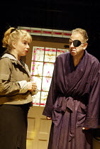'SUGAR DADDIES' (author/director: Alan Ayckbourn)~Alison Pargeter (Sasha), Terence Booth (Ashley)~Stephen Joseph Theatre, Scarborough                              22/07/2003
