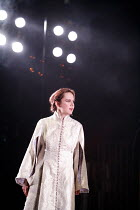 TAMBURLAINE   by Christopher Marlowe   director: David Farr,Rachael Stirling (Zenocrate),Bristol Old Vic / Young Vic / BITE:05 ^Young Genius^ co-production / Barbican Theatre, London EC2   09/11/2005,