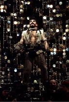 TAMBURLAINE THE GREAT   by Christopher Marlowe   design: Johan Engels   director: Terry Hands ~Antony Sher (Tamburlaine) ~Royal Shakespeare Company (RSC) / Swan Theatre     Stratford-upon-Avon, Englan...