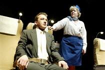 'TERRORISM' (Presnyakov Brothers) Paul Ready, Di Botcher Jerwood Theatre Upstairs / Royal Court, London SW1 13/03/2003