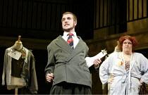 'THE THREEPENNY OPERA' (Weill/Brecht)~James Parkes (Mr Peachum), Beverley Rudd (Mrs Peacham)~National Youth Theatre / Lyric Hammersmith, London W6   28/08/2002