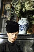 'THREE SISTERS' (Chekhov/Hampton   director: Michael Blakemore)~Kristin Scott Thomas (Masha)~Playhouse Theatre, London WC2                                      03/04/2003