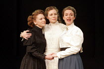 'THREE SISTERS' (Chekhov, in a version by Nicholas Wright - director: Andrew Hilton),l-r: Lucy Black (Masha), Catherine Hamilton (Irina), Daisy Douglas (Olga),Tobacco Factory / Bristol, England...