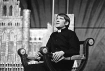 'TINY ALICE' (Albee)~David Warner (Julian)~RSC/Aldwych Theatre, London  01/70