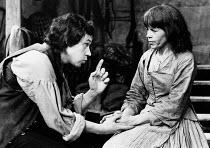 'TRANSLATIONS' (Brian Friel),Stephen Rea (Manus), Maire Ni Ghrainne (Sarah),Hampstead Theatre, London NW3        12/05/1981,~(c) Donald Cooper/Photostage   photos@photostage.co.uk   ref/BW184-20