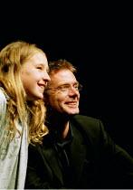 FAR AWAY by Caryl Churchill  design: Ian MacNeil  director: Stephen Daldry ~ ~Stephen Daldry - director (with Annabelle Seymour-Julen/'Young Joan')~Theatre Upstairs, Royal Court Theatre, London SW1  3...