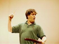 Antonio Pappano (conductor) rehearsing Royal National Scottish Orchestra~Usher Hall, Edinburgh 08/1997 ~(c) Donald Cooper/Photostage   photos@photostage.co.uk   ref/B-10