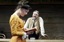 'UNCLE VANYA' (Friel/after Chekhov - directed by Sam Mendes)~Helen McCrory (Yelena), Simon Russell Beale (Vanya)~Donmar Warehouse. London WC2          17/09/2002