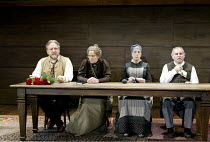 'UNCLE VANYA' (Friel/after Chekhov - directed by Sam Mendes)~l-r: Simon Russell Beale (Vanya), Selina Cadell (Marya), Cherry Morris (Marina), Anthony O'Donnell (Telegin)~Donmar Warehouse. London WC2...