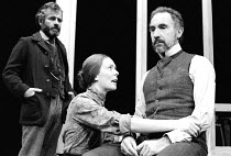 UNCLE VANYA  by Anton Chekhov  in a new version by Pam Gems  set design: Alison Chitty  costumes: Lindy Hemming  lighting: Mark Jonathan  director: Nancy Meckler <br>~l-r: Ian Holm (Doctor Astrov), Al...