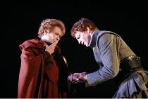 CORIOLANUS   by Shakespeare   director: Gregory Doran <br>,V/iii: Janet Suzman (Volumnia), William Houston (Coriolanus),Royal Shakespeare Company /  Royal Shakespeare Theatre, Stratford-upon-Avon, Eng...