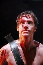 CORIOLANUS   by Shakespeare   director: Gregory Doran <br> ,I/vii: William Houston (Coriolanus),Royal Shakespeare Company /  Royal Shakespeare Theatre, Stratford-upon-Avon, England   06/03/2007,part o...