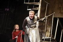 MACBETH   by Shakespeare   director: Ian Brown <br>,Michelle Fairley (Lady Macbeth), David Westhead (Macbeth),West Yorkshire Playhouse / Leeds, England                28/02/2007             ,