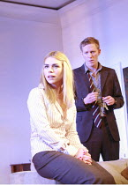TREATS   by Christopher Hampton   director: Laurence Boswell <br>,Billie Piper (Ann), Laurence Fox (Patrick),Garrick Theatre, London WC2    08/03/2007              ,