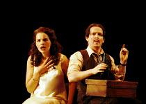 'THE COMEDY OF ERRORS' (Shakespeare)~Emily Raymond (Adriana), Ian Hughes (Dromio of Syracuse)~RSC/RST, Stratford-upon-Avon  20/04/2000