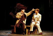 'THE COMEDY OF ERRORS' (Shakespeare)~l-r: Ian Hughes (Dromio of Syracuse), David Tennant (Antipholus of Syracuse)~RSC/RST, Stratford-upon-Avon  20/04/2000