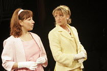 'THE COMEDY OF ERRORS' (Shakespeare - director: Barrie Rutter),l-r: Claire Storey (Luciana), Zoe Lambert (Adriana),Northern Broadsides, Halifax / England                         23/02/2005,