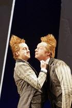 'THE COMEDY OF ERRORS' (Shakespeare - director: Nancy Meckler),Forbes Masson (Dromio of Ephesus), Jonathan Slinger (Dromio of Syracuse),Royal Shakespeare Company /  Royal Shakespeare Theatre, Stratfor...