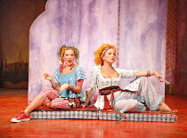 THE COMEDY OF ERRORS   by Shakespeare   director: John Bell,l-r: Jody Kennedy (Luciana), Blazey Best (Adriana),Bell Shakespeare Company / Australia   The Bath Shakespeare Festival 2006 / Theatre Royal...