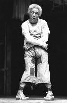 THE COMEDY OF ERRORS by Shakespeare  design: John Napier  lighting: Clive Morris  musical staging: Gillian Lynne  director: Trevor Nunn ~Nickolas Grace (Dromio of Ephesus)~Royal Shakespeare Company (R...