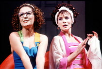 'THE COMEDY OF ERRORS' (Shakespeare),l-r: Caroline Loncq (Luciana), Estelle Kohler (Adriana),Royal Shakespeare Company / Royal Shakespeare Theatre, Stratford-upon-Avon           25/04/1990,