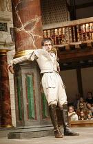 ANTONY AND CLEOPATRA   by Shakespeare   director/^Master of Play^: Dominic Dromgoole,II/vii: Jack Laskey (Octavius Caesar), ,Shakespeare's Globe, Bankside, London SE1    05/07/2006,