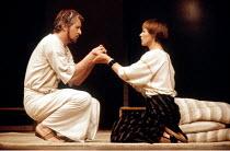 'ANTONY AND CLEOPATRA' (Shakespeare - director: Peter Brook)~Alan Howard (Antony), Glenda Jackson (Cleopatra)~Royal Shakespeare Company / Royal Shakespeare Theatre   Stratford-upon-Avon...