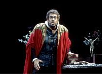 'OTELLO' (Verdi)~Placido Domingo (Otello)~The Royal Opera / Covent Garden, London               10/1992