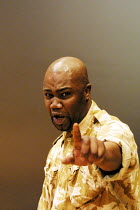 'OTHELLO' (Shakespeare)~Nicholas Monu (Othello)~Theatre Unlimited/Cochrane Theatre, London WC1               31/01/2002