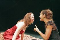 'OTHELLO' (Shakespeare - director: Declan Donnellan),l-r: Caroline Martin (Desdemona), Jaye Griffiths (Emilia),Cheek by Jowl / Riverside Studios, London W6              15/11/2004,