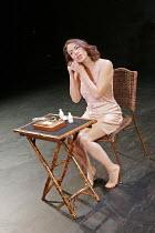 'OTHELLO' (Shakespeare - director: Declan Donnellan),Caroline Martin (Desdemona),Cheek by Jowl / Riverside Studios, London W6              15/11/2004,