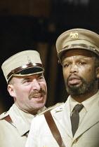'OTHELLO' (Shakespeare - director: Gregory Doran)~l-r: Antony Sher (Iago), Sello Maake ka Ncube (Othello)~Swan Theatre / Royal Shakespeare Company   Stratford-upon-Avon, England                 18/02/...