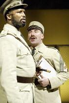 'OTHELLO' (Shakespeare - director: Gregory Doran)~l-r: Sello Maake ka Ncube (Othello). Antony Sher (Iago)~Swan Theatre / Royal Shakespeare Company   Stratford-upon-Avon, England                 18/02/...