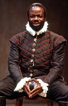 'OTHELLO' (Shakespeare - director: Michael Boyd),Joseph Marcell (Othello),Lyric Studio / Lyric Theatre Hammersmith   London W6                      1984,