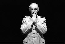 OTHELLO  by Shakespeare  design: Shelagh Keegan  director: David Thacker <br>~David Calder (Iago) ~The Young Vic, London SE1  10/05/1984~(c) Donald Cooper/Photostage   photos@photostage.co.uk   ref/BW...